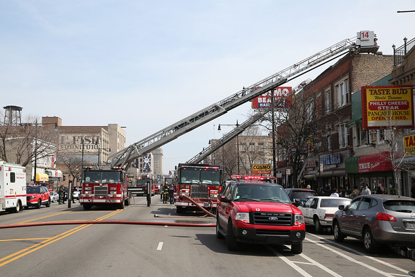 2-11 Alarm Fire 4117 W Madison Avenue April 19, 2014