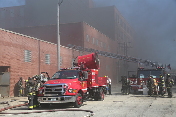 2-11 Alarm Fire Kostner and Fillmore September 2013