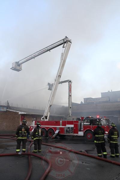 3-11 Alarm Fire 3909 W. Harrison September 25, 2014