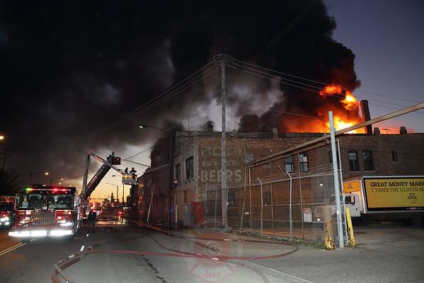 3-11 Alarm Fire 4011 W. Ogden Avenue September 22, 2014