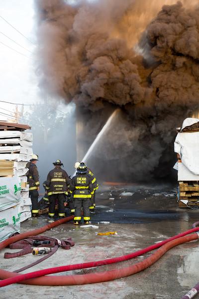 3-11 Alarm Of Fire 6220 N. Northwest Highway October 2015
