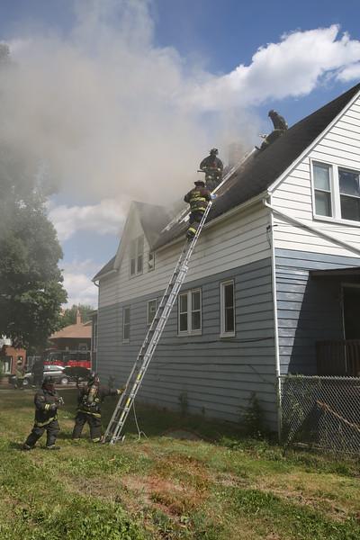 Still & Box Alarm Fire 118 St & Peoria August 2015