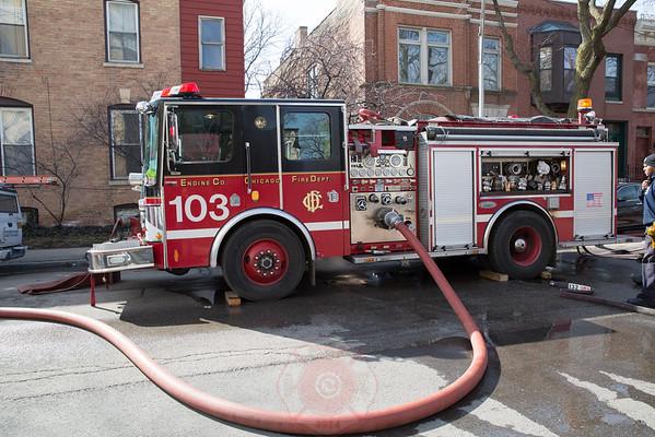 Still & Box Alarm Fire 1330 W. Flournoy March 15, 2015