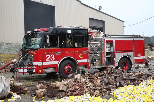 Still & Box Alarm Fire 2300 S. Laflin August 08, 2015