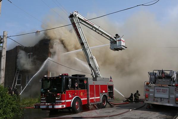 Still & Box Alarm Fire 521 South Millard July2, 2015