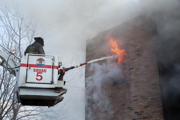 Still & Box Alarm Fire 6000 S. Green April 4, 2015