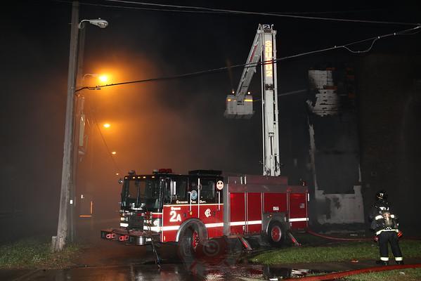 Still & Box Alarm Fire Van Buren and Kostner October 2, 2014