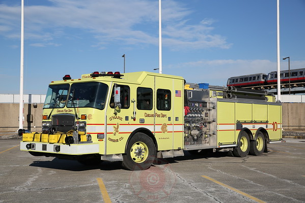 CFD O'Hare International Airport Apparatus January 2015