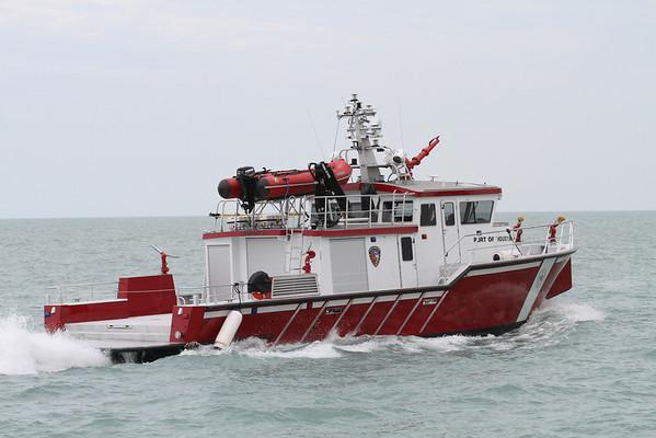 Port Of Houston Fireboat # 2 - Chicago Illinois May 26, 2013